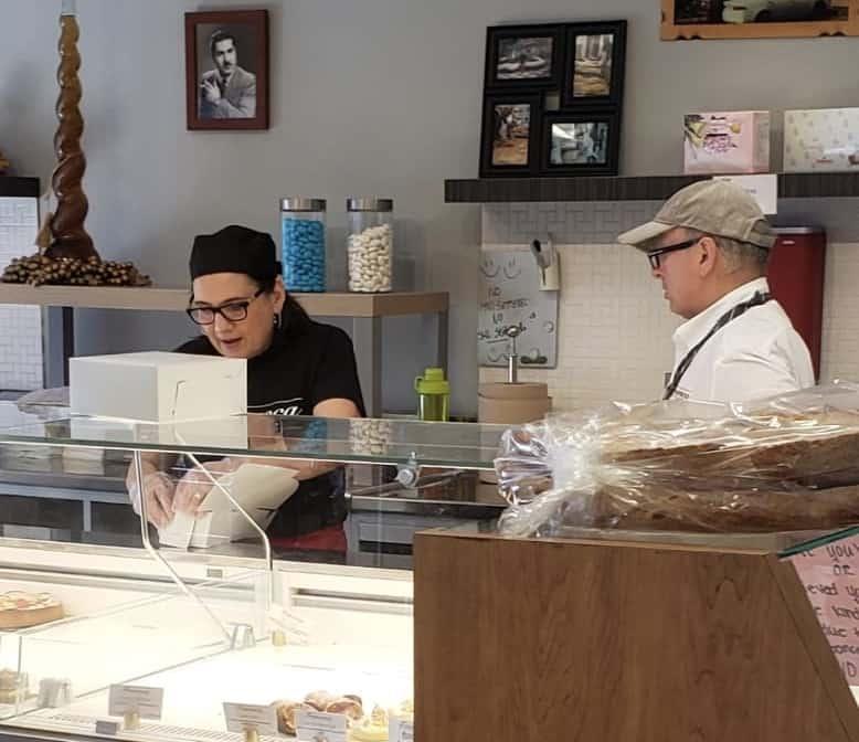 Italian bakery with Francesca and Angelo