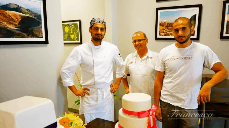wedding cake bakery